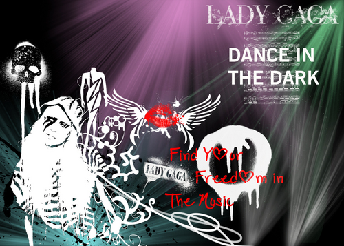 Lady GaGa DANCE IN THE DARK wallpaper