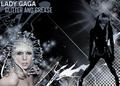 lady gaga glitter and grease wallpaper - lady-gaga photo