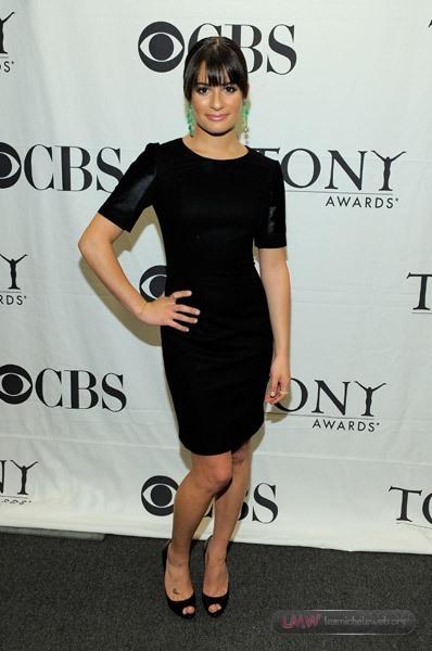 Lea Michele - 2010 Tony Awards Nominations Announcements