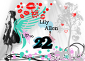 Lily Allen TWENTY TWO Wallpaper