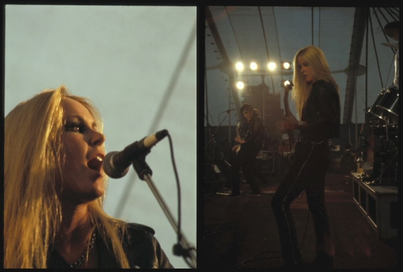 Lita in Belgium - July 1978