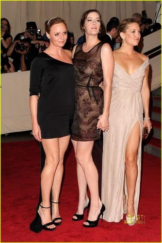 Liv Tyler: MET Ball with Kate Hudson