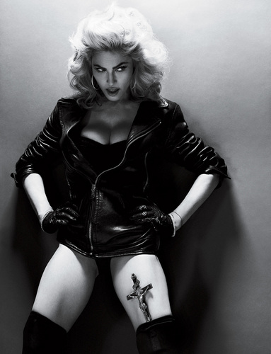 Madonna- تصویر shott for Interview May 2010
