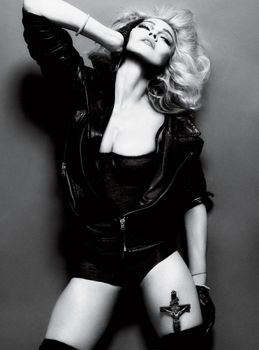 Madonna- 照片 shott for Interview May 2010