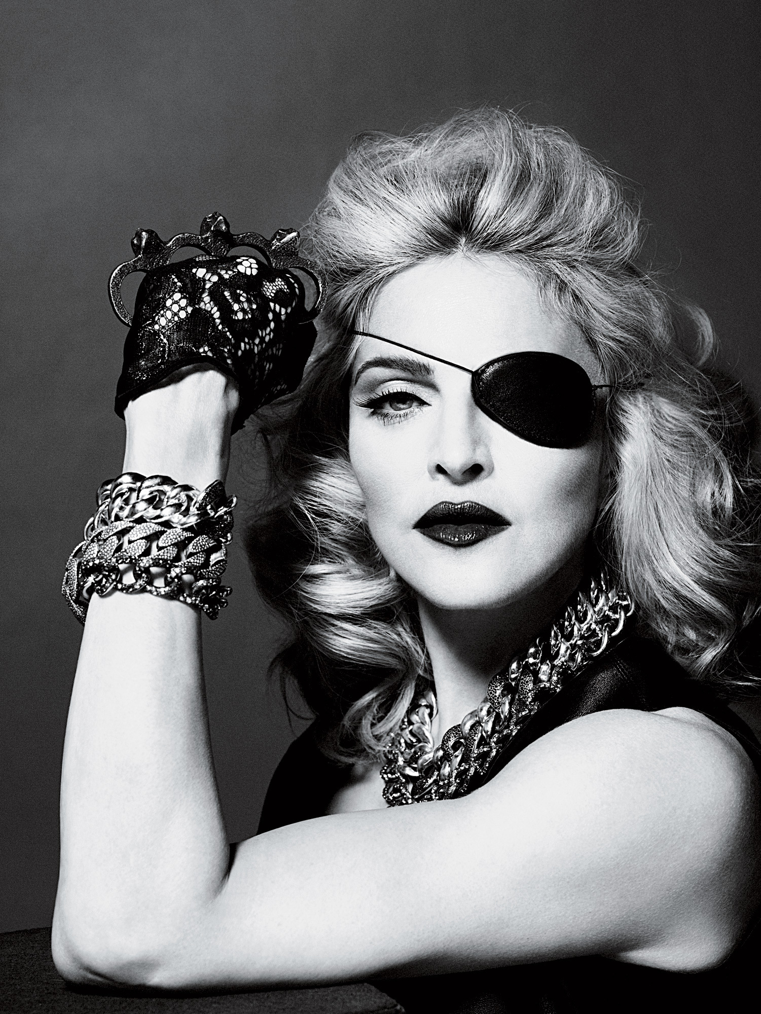 Madonna- Photo shott for Interview May 2010 - Madonna ...