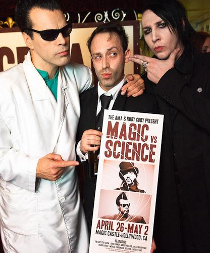 Marilyn Manson wallpaper titled Magic vs. Science
