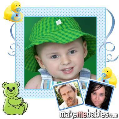 Me/Hugh Laurie baby