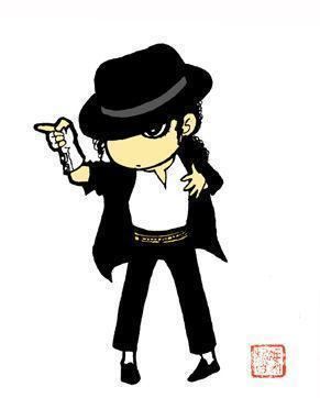 Michael Jackson wallpaper entitled Michael Jackson cartoni animati