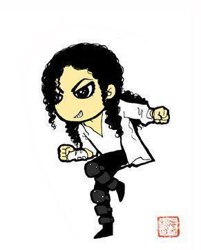 Michael Jackson dessins animés