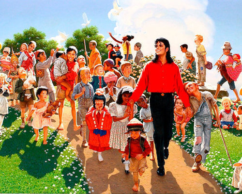Michael and Kids:)
