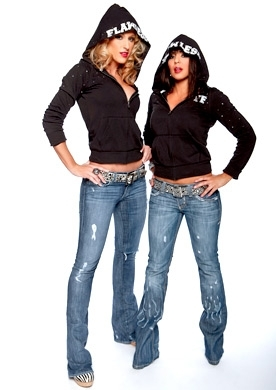 Michelle McCool and Layla