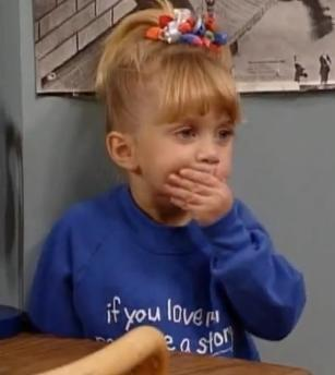 Full House wallpaper called Michelle tanner screencap