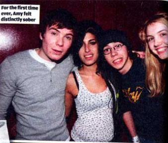 Mike/Hannah/Joe & AMY FREAKING WINEHOUSE!