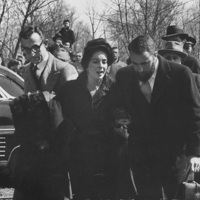 Mike Todd's funeral