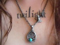 My Twilight tattoo and my Jacob necklace <3333
