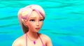 Mysterious Pink Hair, Breath Underwater, and a Talking Dolphin - barbie-in-mermaid-tale screencap