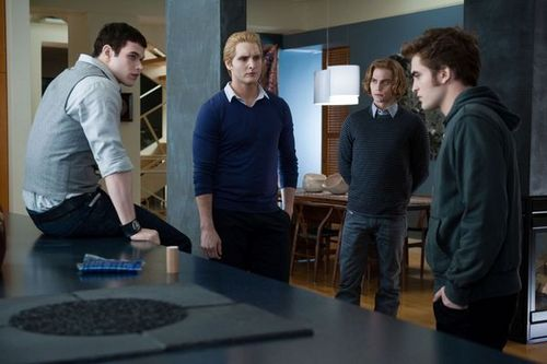 NEW Eclipse Still - Edward and the Cullen Men