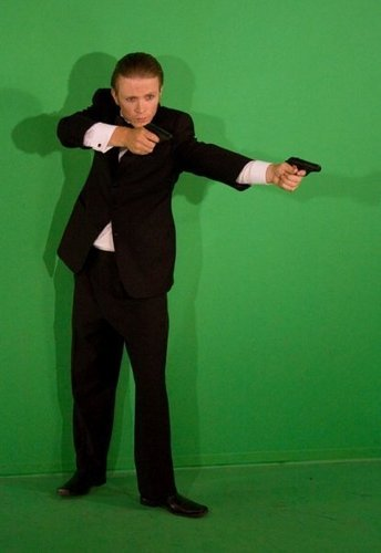 New/Old Pictures Of Charlie Bewley From 'Agent Denim –The squalo Of Love'