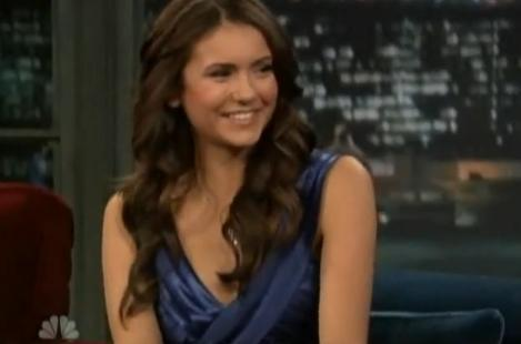 Nina Dobrev on The Late Show - nina-dobrev Photo