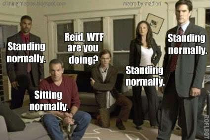 Oh Reid, always the original!