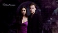 Paul&Nina - paul-wesley-and-nina-dobrev wallpaper