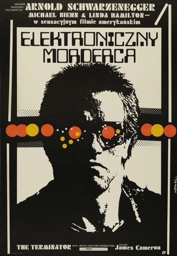 Terminator fond d'écran called Polish poster of The Terminator