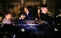 Pugsley, Wednesday, Gomez, Morticia, and Lurch - the-addams-family-1964 photo