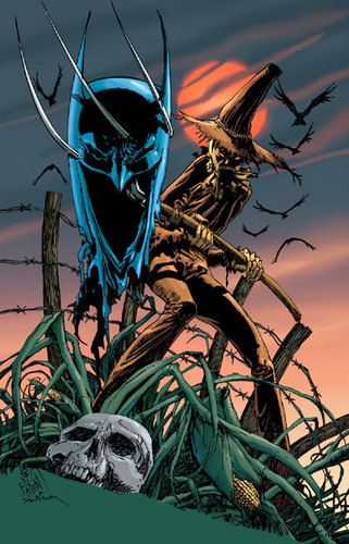 Scarecrow in The Comics.