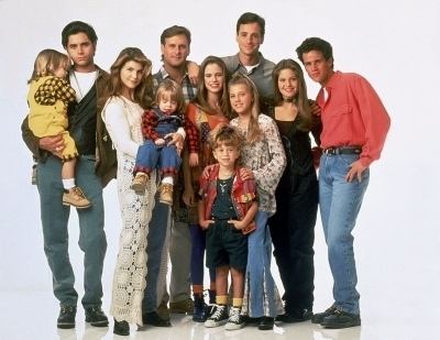 Full House wallpaper entitled Season 7 Cast photoshoot