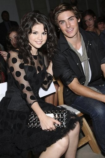 Selena with zac efron - selena-gomez photo