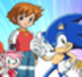 Sonic and Chris - sonic-characters icon