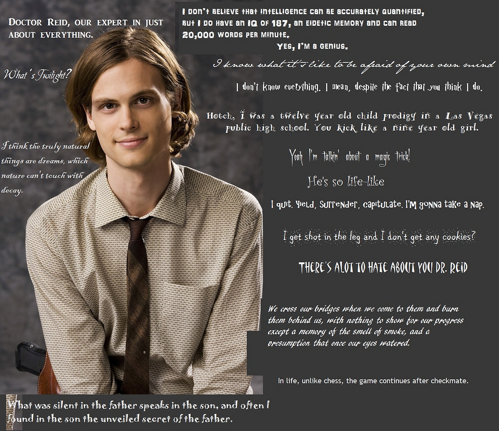Spencer Reid kutipan