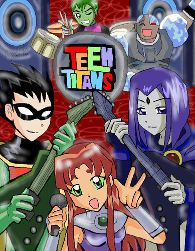 Teen Titans  - teen-titans Fan Art