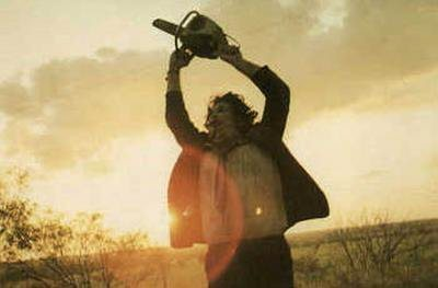 공포 영화 바탕화면 titled Texas Chainsaw Massacre