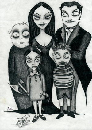 The Addams Family 1964 wallpaper called The Addams Family