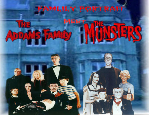 The Addams Family vs the Munsters