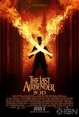 Avatar – Der Herr der Elemente Hintergrund called The Last Airbender Movie Poster