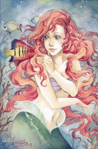 The Little Mermaid-Ariel-