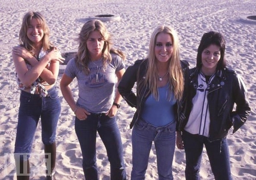 the runaways wallpaper titled The Runaways in 1978