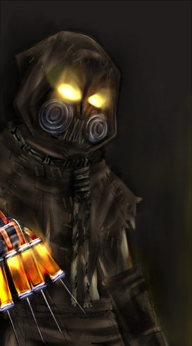 The Scarecrow in Arkham Asylum