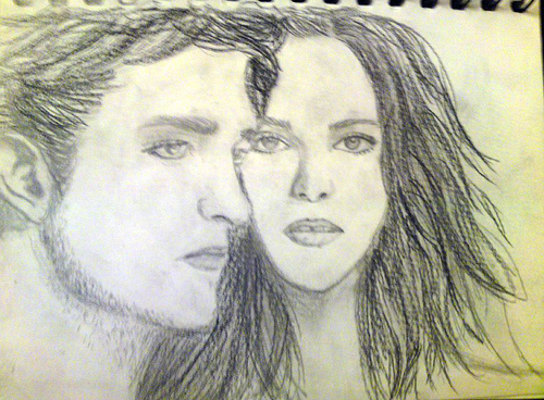 Twilight Cast Drawlings