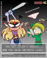 You got Zelda's Undies - link fan art