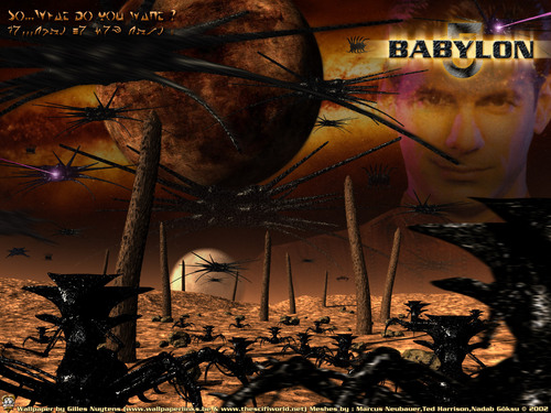 babylon 5 shadows poster