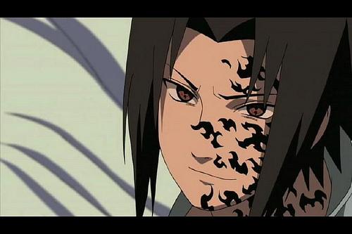 Curse mark sasuke shippuden
