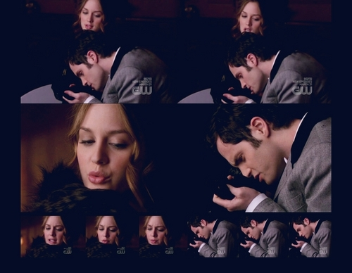 Dan and Blair wallpaper entitled dan humphrey & blair waldorf picspam