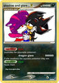 what? me and shadow as pokemon cards!?