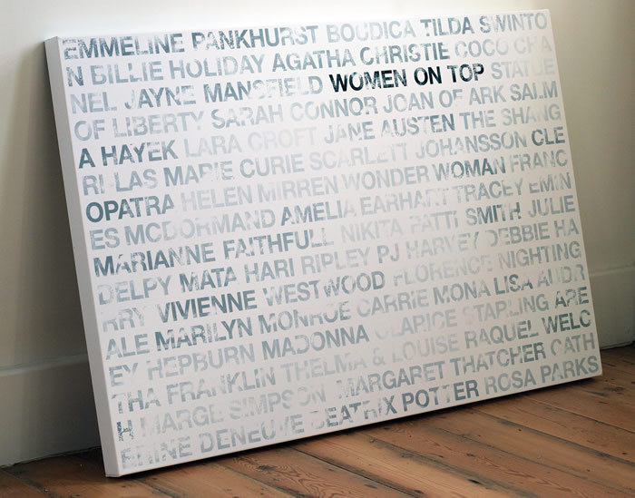 'Women On Top' Limited Edition Art Print দ্বারা Coulson Macleod