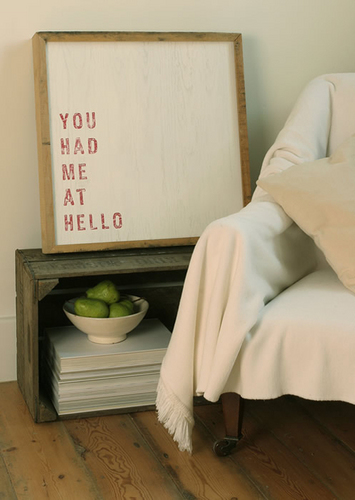 'You Had Me At Hello' Limited Edition Art kwa Coulson Macleod