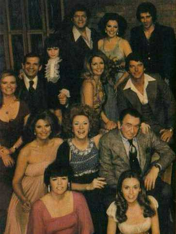 Days of Our Lives karatasi la kupamba ukuta entitled 1977 Cast Picture