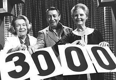 3,000th episode 1977